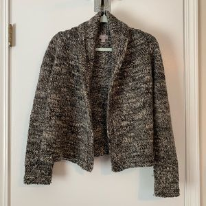 J. Jill speckled collated cardigan